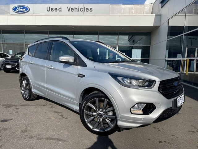 Used Ford Escape ZG 2019.75MY ST-Line Essendon Fields, 2019 Ford Escape ZG 2019.75MY ST-Line Silver 6 Speed Sports Automatic SUV