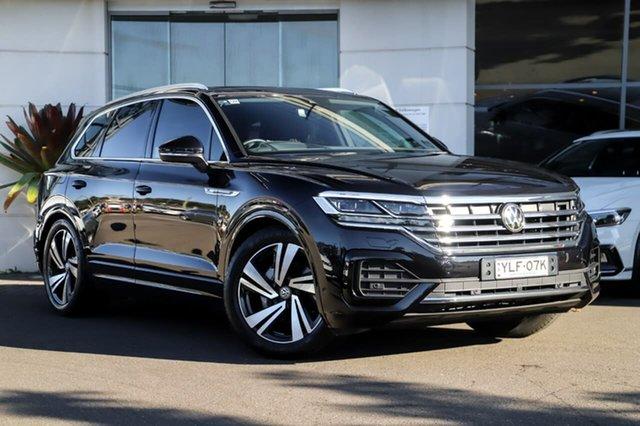 Used Volkswagen Touareg CR MY20 190TDI Tiptronic 4MOTION Premium Sutherland, 2019 Volkswagen Touareg CR MY20 190TDI Tiptronic 4MOTION Premium Black 8 Speed Sports Automatic