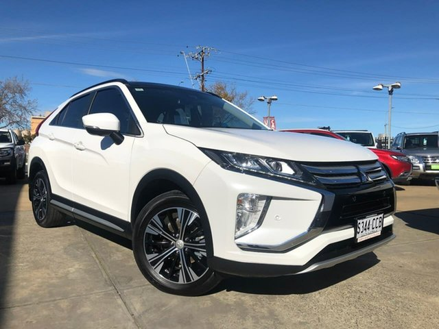 Used Mitsubishi Eclipse Cross YA MY19 Exceed 2WD Hillcrest, 2019 Mitsubishi Eclipse Cross YA MY19 Exceed 2WD White 8 Speed Constant Variable Wagon