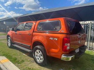2014 Holden Colorado RG MY14 LTZ (4x4) Orange 6 Speed Manual Crew Cab Pickup.