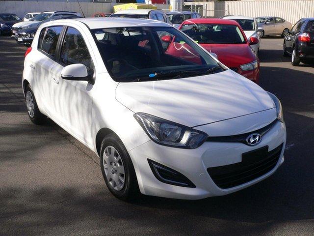 Used Hyundai i20 PB MY14 Active St Marys, 2014 Hyundai i20 PB MY14 Active White 4 Speed Automatic Hatchback