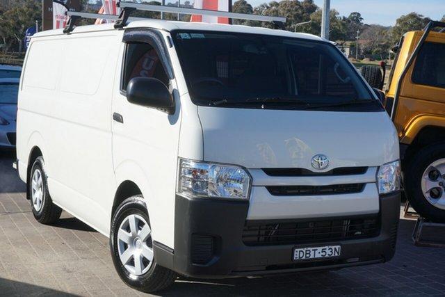 Used Toyota HiAce TRH201R LWB Phillip, 2015 Toyota HiAce TRH201R LWB White 6 Speed Automatic Van