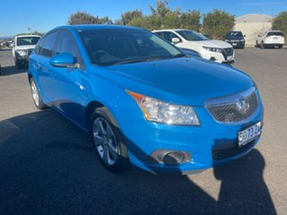 2013 Holden Cruze JH Series II MY13 CD Blue 6 Speed Sports Automatic Hatchback.