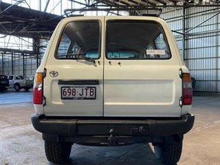 1990 Toyota Landcruiser HZJ80R Standard White 5 Speed Manual Wagon