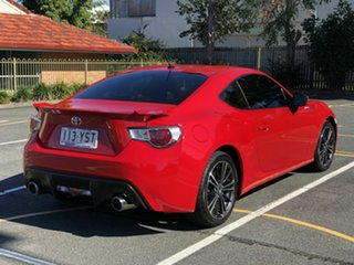 2013 Toyota 86 ZN6 GTS Red 6 Speed Sports Automatic Coupe.