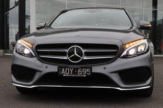 2017 Mercedes-Benz C-Class W205 808MY C300 9G-Tronic Grey 9 Speed Sports Automatic Sedan.
