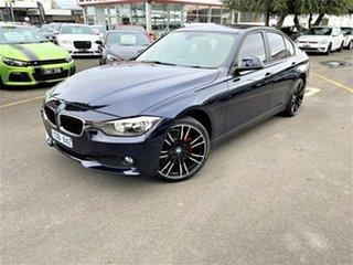2012 BMW 320d F30 320d Blue 8 Speed Sports Automatic Sedan.