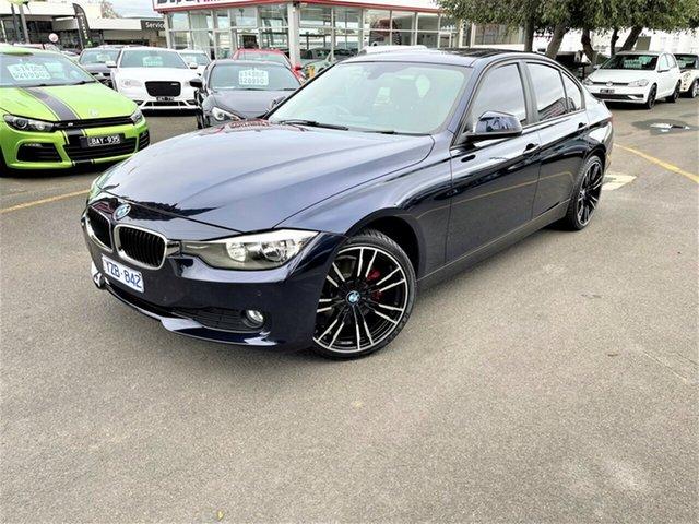 Used BMW 320d F30 320d Seaford, 2012 BMW 320d F30 320d Blue 8 Speed Sports Automatic Sedan