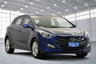 2013 Hyundai i30 GD Elite Blue 6 Speed Sports Automatic Hatchback.