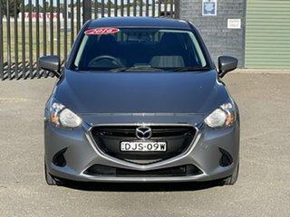 2016 Mazda 2 DL2SAA Neo SKYACTIV-Drive Grey 6 Speed Sports Automatic Sedan.