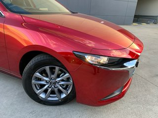 2021 Mazda 3 BP2S7A G20 SKYACTIV-Drive Pure Soul Red Crystal 6 Speed Sports Automatic Sedan
