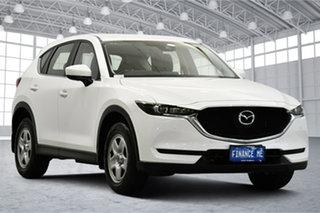 2017 Mazda CX-5 KF2W7A Maxx SKYACTIV-Drive FWD White 6 Speed Sports Automatic Wagon.