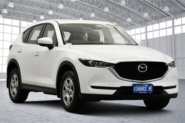 Used Mazda CX-5 KF2W7A Maxx SKYACTIV-Drive FWD Victoria Park, 2017 Mazda CX-5 KF2W7A Maxx SKYACTIV-Drive FWD White 6 Speed Sports Automatic Wagon