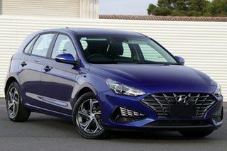 2021 Hyundai i30 Intense Blue 6 Speed Automatic Hatchback.