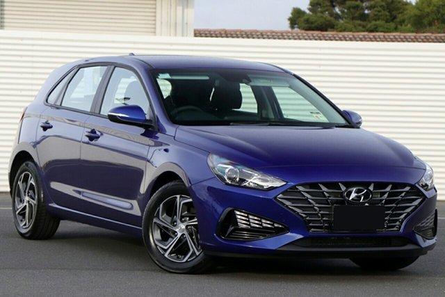 New Hyundai i30 PD.V4 MY21 Ferntree Gully, 2021 Hyundai i30 PD.V4 MY21 Intense Blue 6 Speed Sports Automatic Hatchback