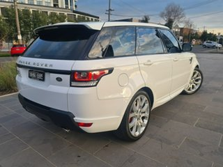 2016 Land Rover Range Rover Sport L494 16MY HSE Dynamic White 8 Speed Sports Automatic Wagon