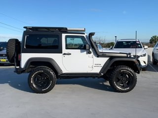 2013 Jeep Wrangler JK MY2013 Sport White 5 Speed Automatic Softtop.