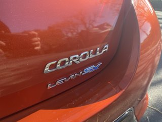 2013 Toyota Corolla ZRE182R Levin S-CVT SX Inferno Red 7 Speed Constant Variable Hatchback
