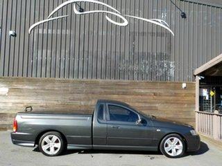2007 Ford Falcon BF Mk II XR6 Ute Super Cab Grey 4 Speed Sports Automatic Utility.