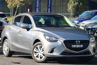 2016 Mazda 2 DL2SA6 Neo SKYACTIV-MT Silver 6 Speed Manual Sedan.