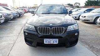 2012 BMW X3 F25 MY0412 xDrive30d Steptronic Black 8 Speed Automatic Wagon.