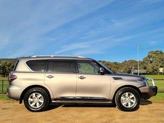 2012 Nissan Patrol Y62 TI-L Grey 7 Speed Sports Automatic Wagon.