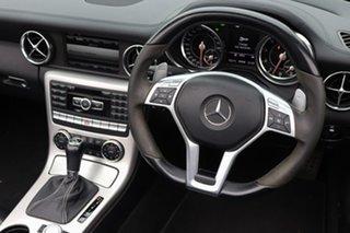 2012 Mercedes-Benz SLK-Class R172 SLK55 AMG SPEEDSHIFT PLUS White 7 Speed Sports Automatic Roadster