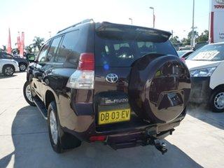 2011 Toyota Landcruiser Prado GRJ150R Kakadu Maroon 5 Speed Sports Automatic Wagon.