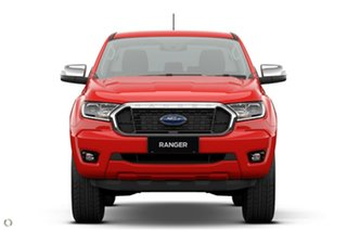 2021 Ford Ranger PX MkIII 2021.25MY XLT Double Cab Red 10 Speed Sports Automatic Double Cab Chassis.