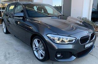 2017 BMW 1 Series F20 LCI 125i M Sport Grey 8 Speed Sports Automatic Hatchback.