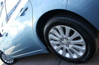 2011 Subaru Impreza G3 MY11 R AWD Blue 4 Speed Sports Automatic Hatchback