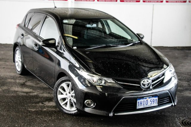 Pre-Owned Toyota Corolla ZRE182R Ascent Sport Myaree, 2013 Toyota Corolla ZRE182R Ascent Sport Ink 7 Speed CVT Auto Sequential Hatchback