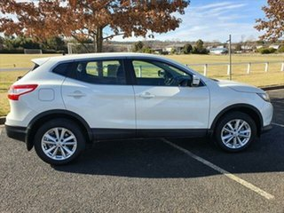 2015 Nissan Qashqai J11 ST Ivory Pearl 1 Speed Constant Variable Wagon