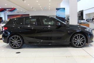 2021 BMW 1 Series F40 118i DCT Steptronic M Sport Black Sapphire 7 Speed.