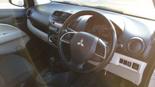 2014 Mitsubishi Mirage LA ES Silver Continuous Variable Hatchback