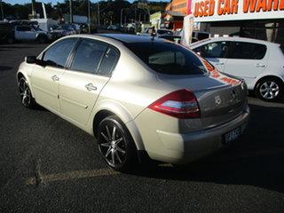 2009 Renault Megane X84 MY06 Upgrade Privilege Gold 4 Speed Automatic Sedan.