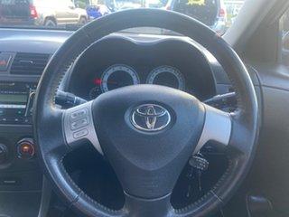 2009 Toyota Corolla ZRE152R Conquest Silver 4 Speed Automatic Sedan