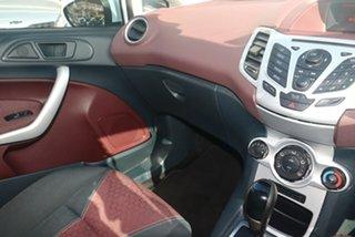 2009 Ford Fiesta WS Zetec White 4 Speed Automatic Hatchback