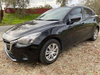 2018 Mazda 2 DL2SAA Neo SKYACTIV-Drive Black 6 Speed Sports Automatic Sedan.