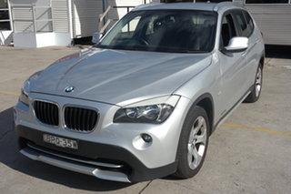2010 BMW X1 E84 MY11 sDrive18i Steptronic Silver 6 Speed Sports Automatic Wagon.
