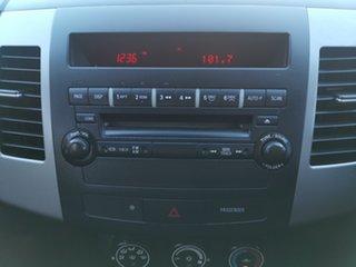 2009 Mitsubishi Outlander ZH MY10 LS Grey 5 Speed Manual Wagon