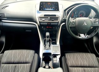 2019 Mitsubishi Eclipse Cross YA MY20 LS (2WD) Silver Continuous Variable Wagon.