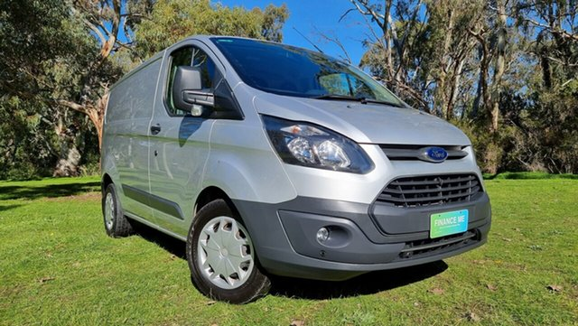 Used Ford Transit Custom VN 290S Low Roof SWB Nuriootpa, 2017 Ford Transit Custom VN 290S Low Roof SWB Moondust Silver 6 Speed Automatic Van