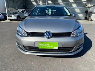 2012 Volkswagen Golf VII 110TDI DSG Highline Silver 6 Speed Sports Automatic Dual Clutch Hatchback.