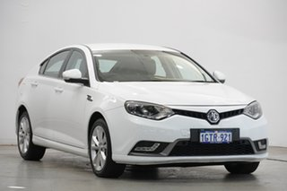 2017 MG MG6 IP2X Core Mountain White 6 Speed Sports Automatic Dual Clutch Hatchback