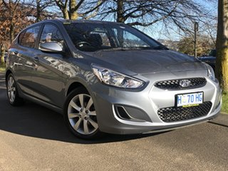 2018 Hyundai Accent RB6 MY18 Sport Lake Silver 6 Speed Sports Automatic Hatchback.