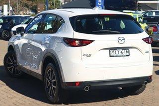 2018 Mazda CX-5 MY19 (KF Series 2) Akera (4x4) White 6 Speed Automatic Wagon.