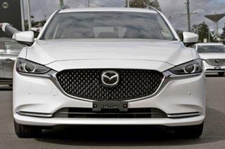 2021 Mazda 6 GL1033 Touring SKYACTIV-Drive White 6 Speed Sports Automatic Wagon.