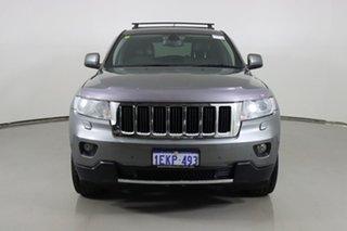 2011 Jeep Grand Cherokee WK Limited (4x4) Grey 5 Speed Automatic Wagon.