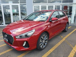 2018 Hyundai i30 PD2 MY18 Trophy Red 6 Speed Sports Automatic Hatchback.